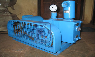 Rotary Piston High Vacuum Pump