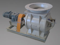 Rotary Valve with Sight Glass